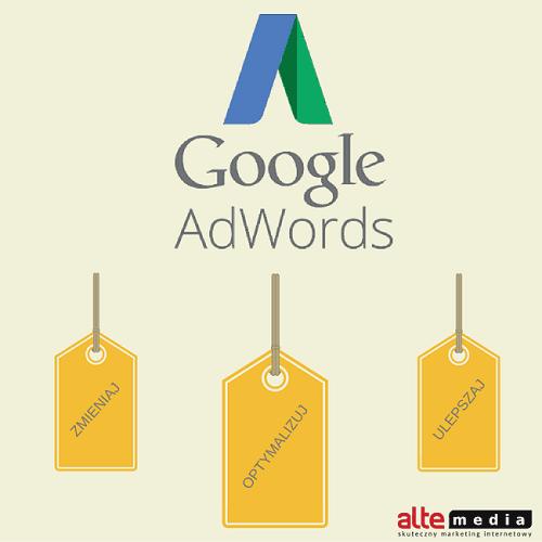 Google AdWords, kampanie AdWords, optymalizacja kampanii, słowa kluczowe