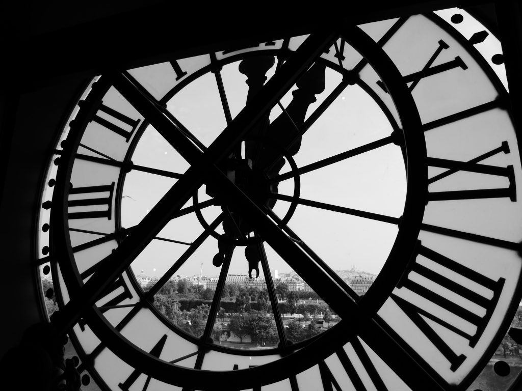 zegar i miasto